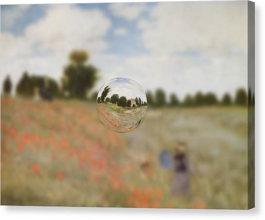 Sphere 9 Monet Canvas Print