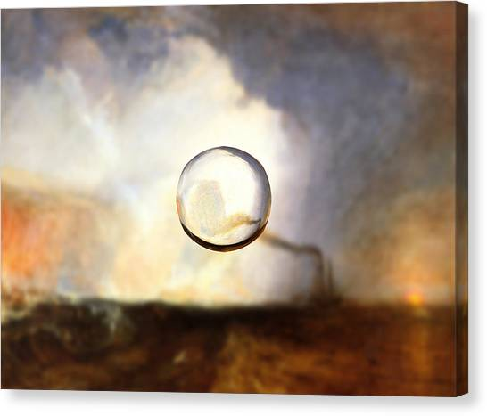 Sphere I Turner Canvas Print