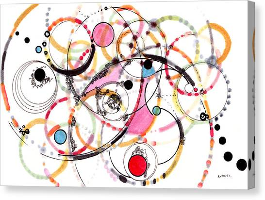 Spheres Of Influence Canvas Print