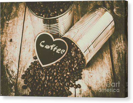 Roast Canvas Print - Spilling The Beans by Jorgo Photography - Wall Art Gallery