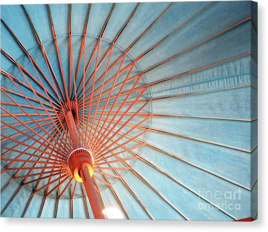 Canvas Print featuring the photograph Spindles And Struts by Rick Locke