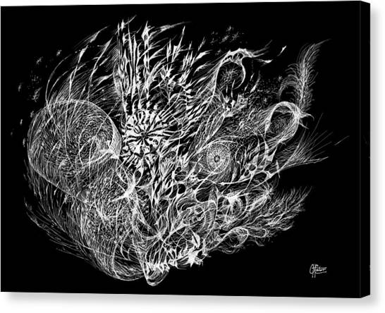 Spindrift Canvas Print