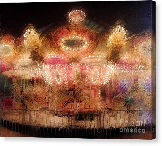 Spinning At The Speed Of Light Canvas Print