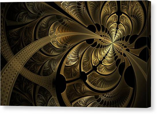 Spinning Splits Canvas Print