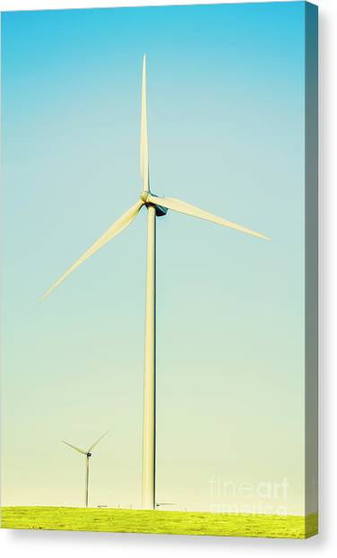 Energy Canvas Print - Spinning Sustainability by Jorgo Photography - Wall Art Gallery
