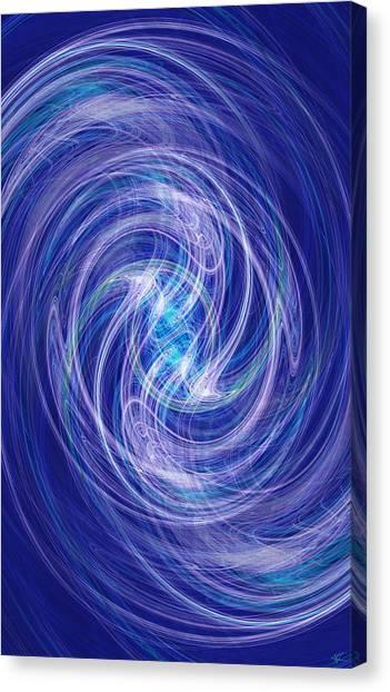 Spiral Dance Canvas Print