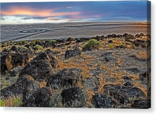 Spiral Jetty Canvas Print