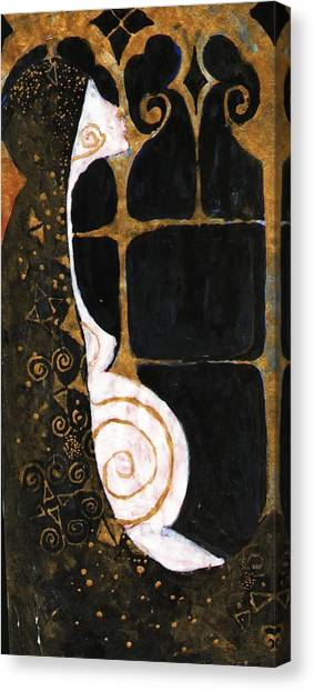 Spiral Of Life Canvas Print
