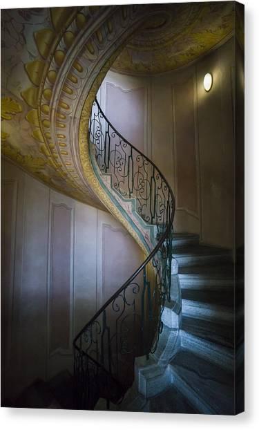 Spiral Staircase Melk Abbey II Canvas Print