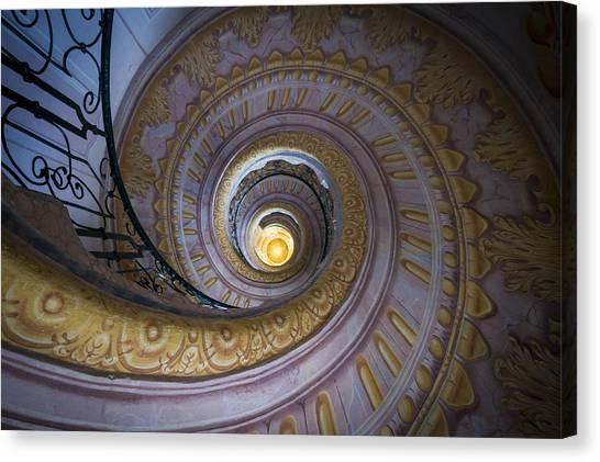 Spiral Staircase Melk Abbey IIi Canvas Print