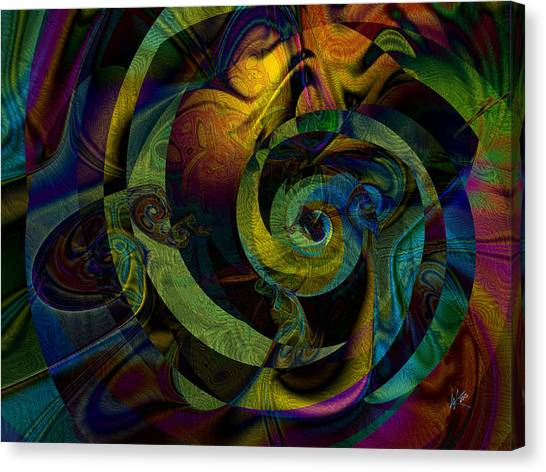 Spiralicious Canvas Print