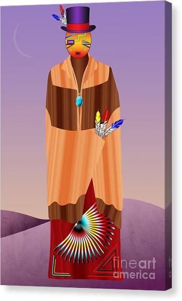 Spirit Civilized Canvas Print