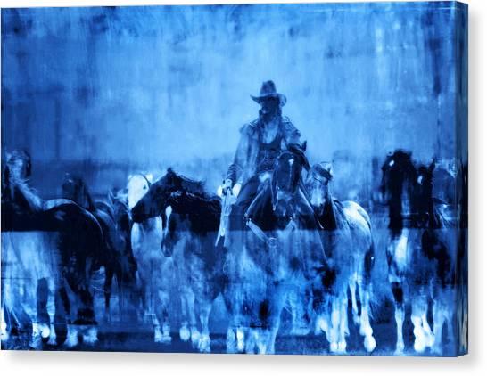 Spirit Herd Canvas Print by Nick Sokoloff