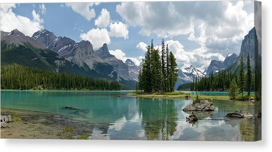 Spirit Island And The Hall Of The Gods Canvas Print