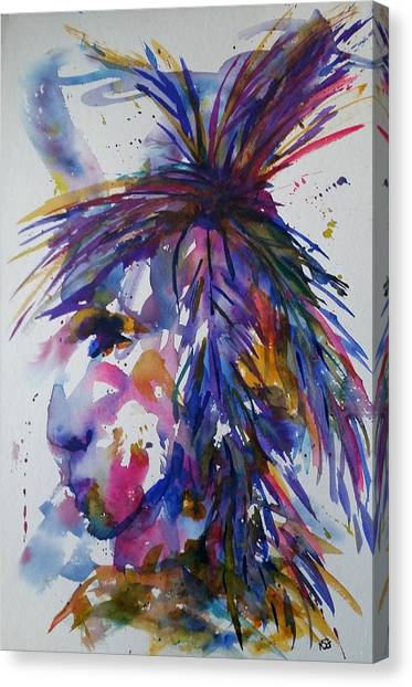 Spirit Of Horsefeather Canvas Print
