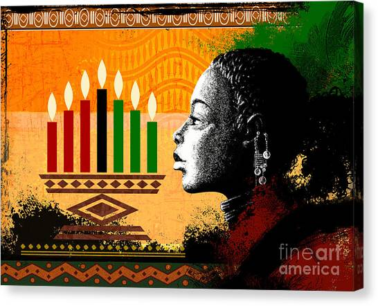 Spirit Of Kwanzaa Canvas Print