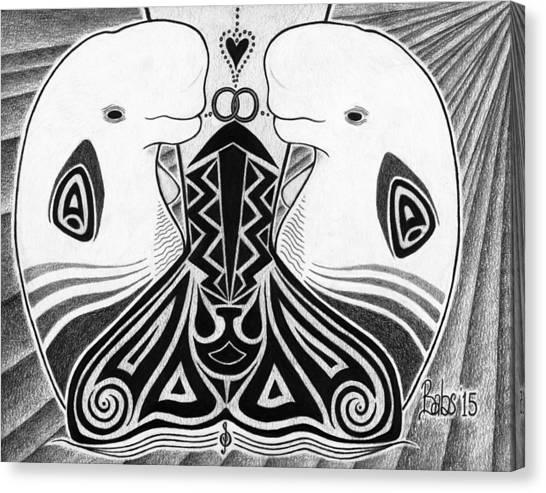 Spirit Of The Arctic Canvas Print