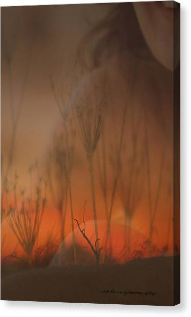 Spirit Of The Land Canvas Print