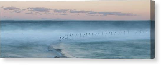 Sunrise Horizon Canvas Print - Spirit Of The Ocean by Az Jackson