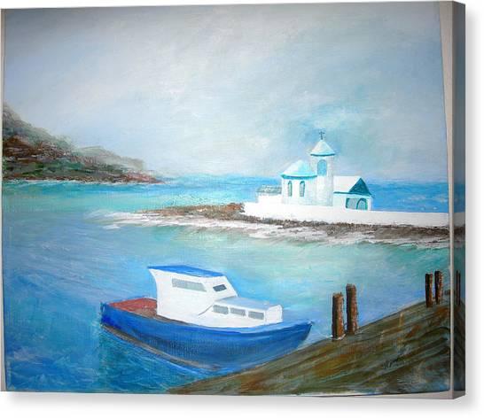 Spirit Of The Sea Canvas Print by Jack Hampton