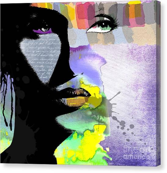 Graphic Canvas Print - Spirit by Ramneek Narang