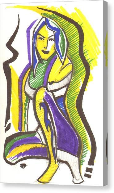 Spirit Vapors Canvas Print