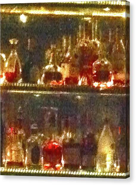 Tequila Sunrise Canvas Print - Spirits 11 by Ken Lerner