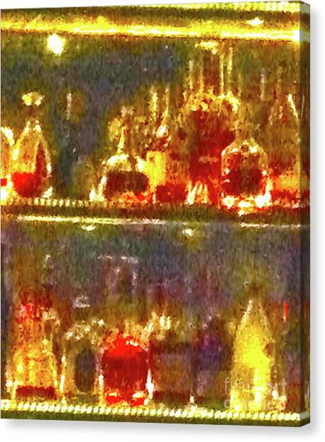 Tequila Sunrise Canvas Print - Spirits 11b by Ken Lerner