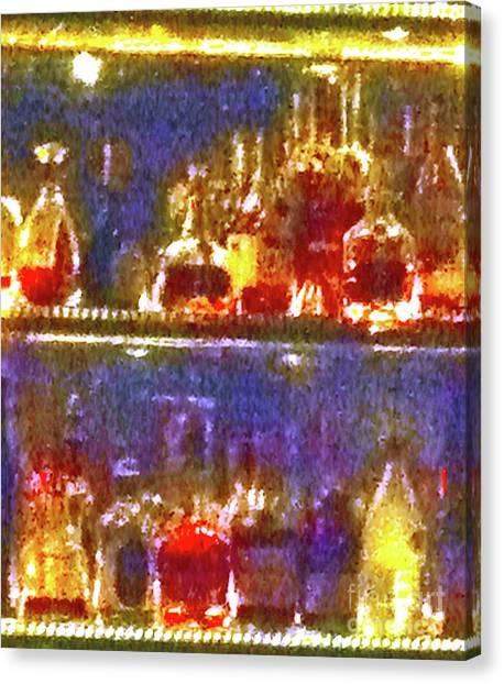 Tequila Sunrise Canvas Print - Spirits 11c by Ken Lerner