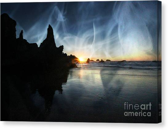 Spirits At Sunset Canvas Print