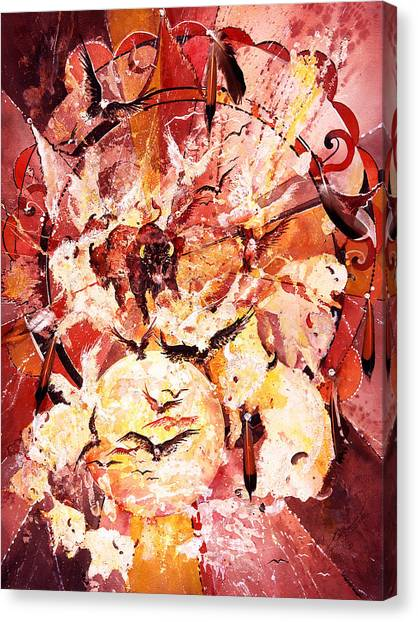 Spirits Freed Canvas Print
