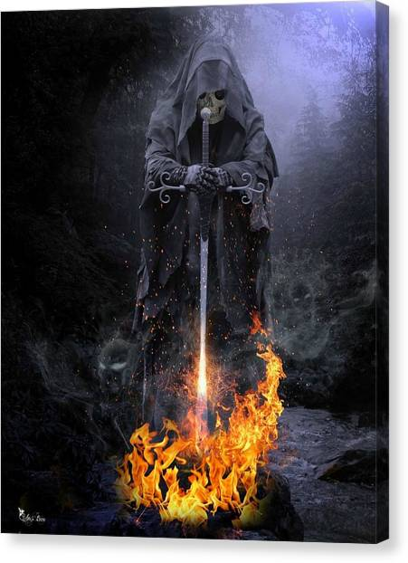 Spirits Released Canvas Print