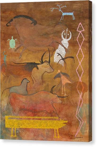 Spirits- Souls Of All Living Canvas Print