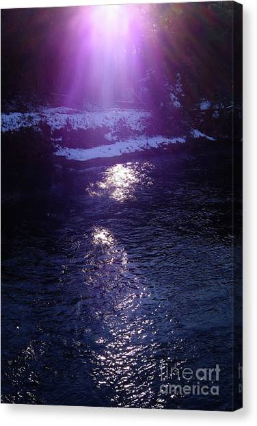 Spiritual Light Canvas Print