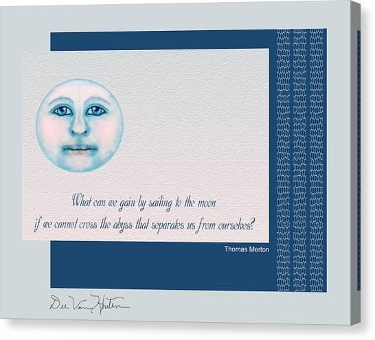 Spiritual Moon Canvas Print