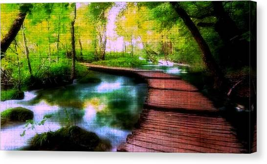 Spiritual Walk Canvas Print
