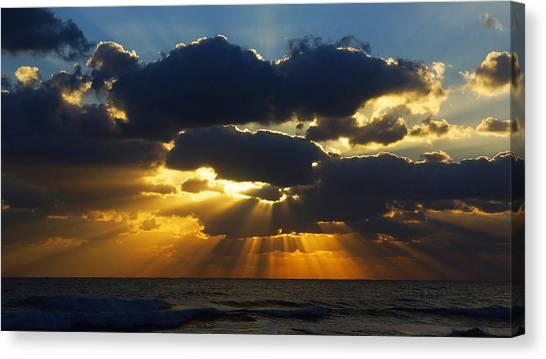 Spiritually Uplifting Sunrise Canvas Print