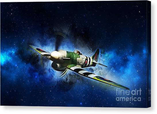 Hawker Typhoon Canvas Print