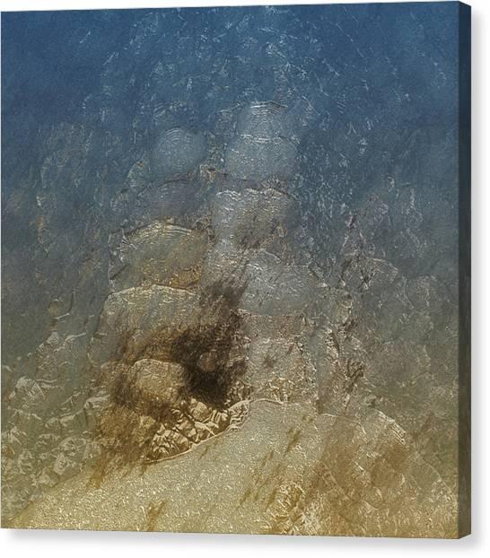 Caverns Canvas Print - Splash 3 by Jack Zulli