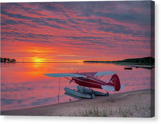 Splash-in Sunrise Canvas Print