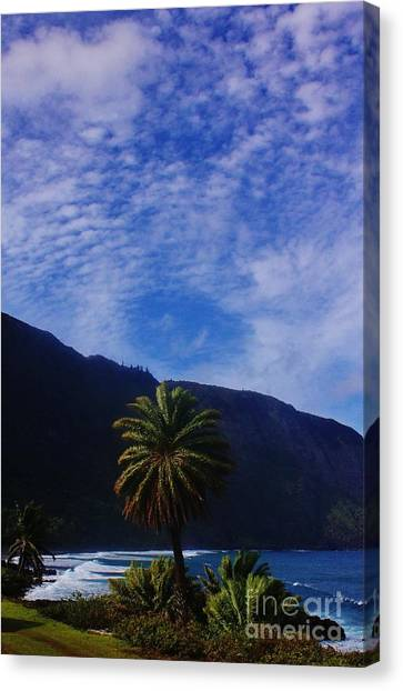 Kalaupapa Cliffs Canvas Print - Splendor Of Kalaupapa by Craig Wood
