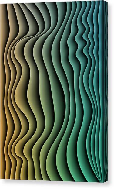 Split Infinities Canvas Print