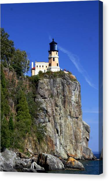 Split Rock 2 Canvas Print