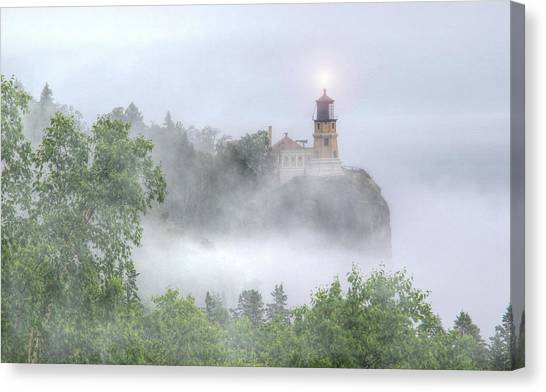 Split Rock Lighthouse Lake Superior North Shore Canvas Print