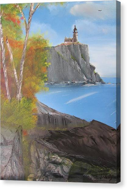 Split Rock Lighthouse Minnesota Canvas Print