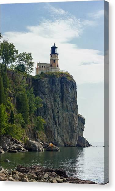 Split Rock Lightouse Canvas Print