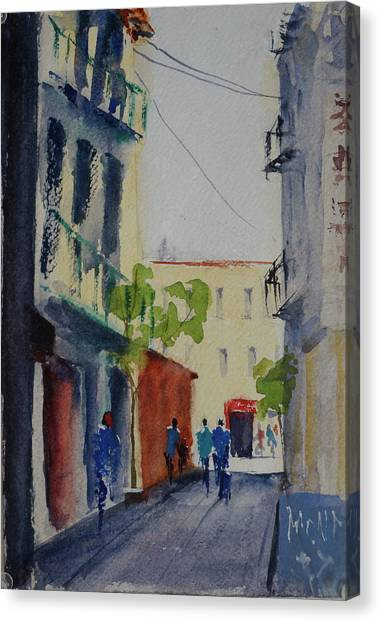 Spofford Street3 Canvas Print