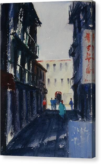 Spofford Street4 Canvas Print