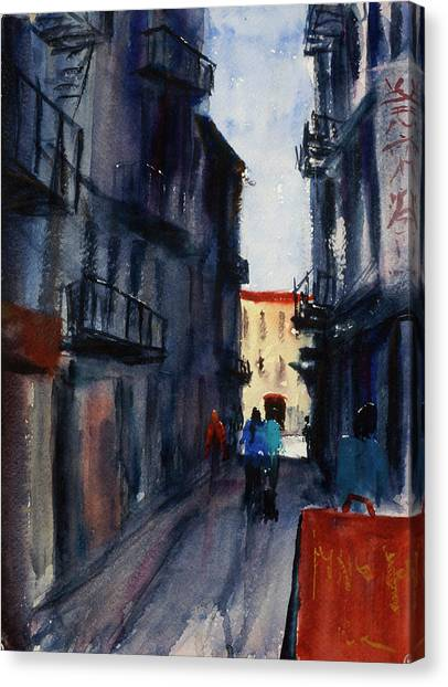 spofford Street5 Canvas Print
