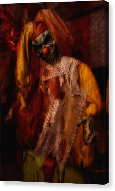 Spoils, The Clown Canvas Print